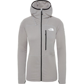 The North Face L2 Power Grid Light Hoodie Jacket Dame Meld Grey